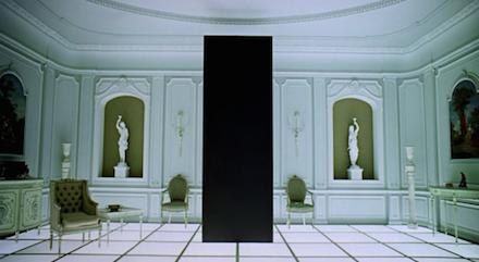 Űrodüsszeia 2001 - utolsó jelenet és a monolit