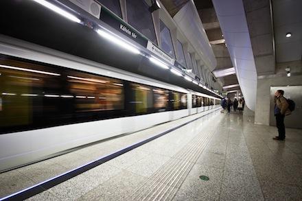 BKK - M4-es metró, Kálvin tér