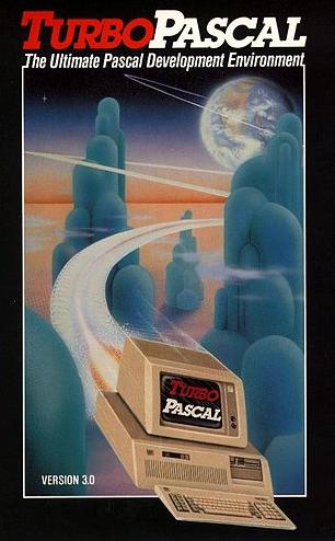 Borland Turbo Pascal könyv