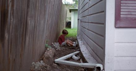 Sráckor (Boyhood) című film jelenete, Ellar Coltrane-nel