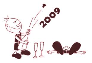 Boldog 2009-es új évet!