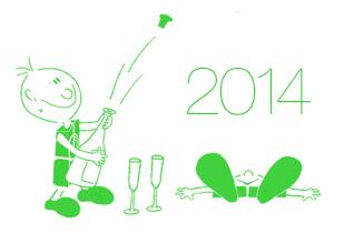 Boldog új évet 2014-re