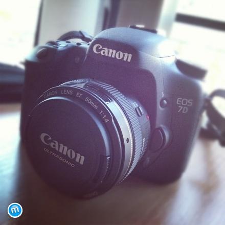 Canon EOS 7D, Canon EF 50mm F/1.4 USM