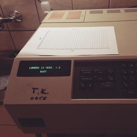 Ilyen volt a spektrom�ter a Crime Lab nyomoz�s j�t�kban