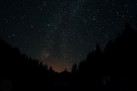 Szabad ég alatt éjszakázós