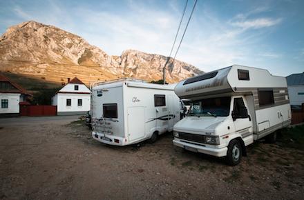 Erdély lakóautóval, 2014 - a Fiat McLouis Glen és a Hymer
