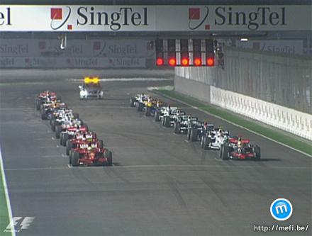 F1 2008 Szingapúr - Lámpafényes GP