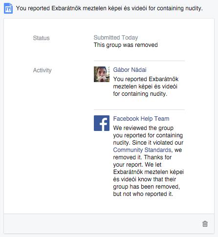 Facebook sikeres jelent�s