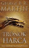 George R. R. Martin: Trónok harca - A tűz és a jég dala 1. borítója