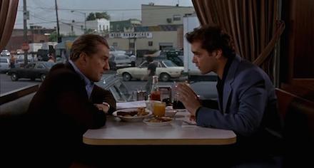 A Nagymenők egyik jelenete, Robert De Niróval és Ray Liottával