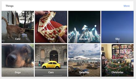 Google Photos automata címkézés keresője