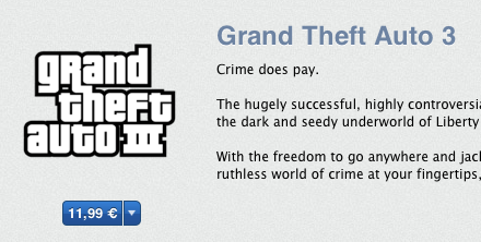 GTA III - App Store