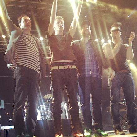 Kaukázus koncert a Budapest Parkban, 2013. április 27-én este