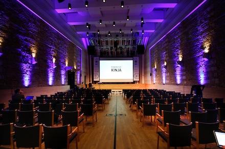 Kinja, Play Framework, Scala, Ping, Budapest Music Center