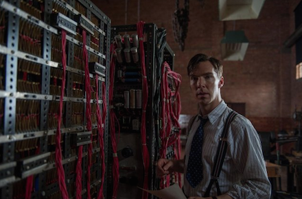 K�dj�tszma - The Imitation Game egyik jelenete Benedict Cumberbatchcsal