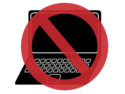 Laptop STOP!