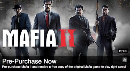 A Mafia II előrendelhető