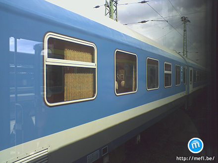 MÁV vonat kívülről