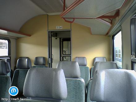 MÁV vonat utastere