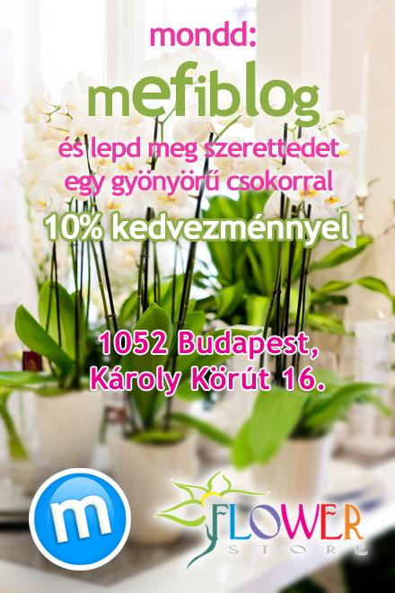 Flowerstore-mefiblog 10% kedvezmény