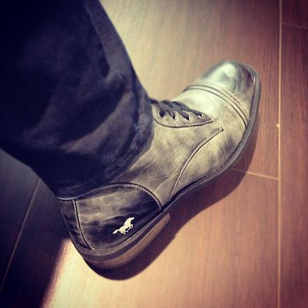 Mefi Mustang cipője a megvásárláskor