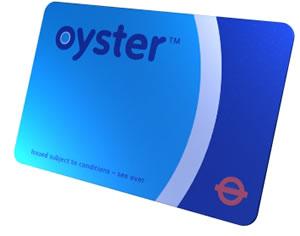 Oyster kártya Londonban