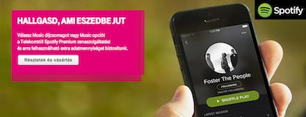 Spotify és a Telekom