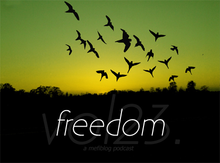 mefiblog podcast vol23.freedom