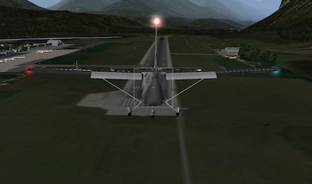 X-Plane játék közben