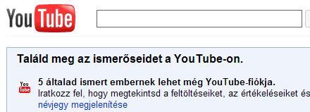 Magyarul tud a YouTube!