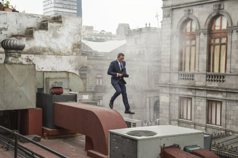 007 Spectre: James Bond alias Daniel Craig Mexikóban
