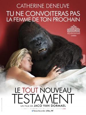 A Legújabb testamentum c. film plakátja