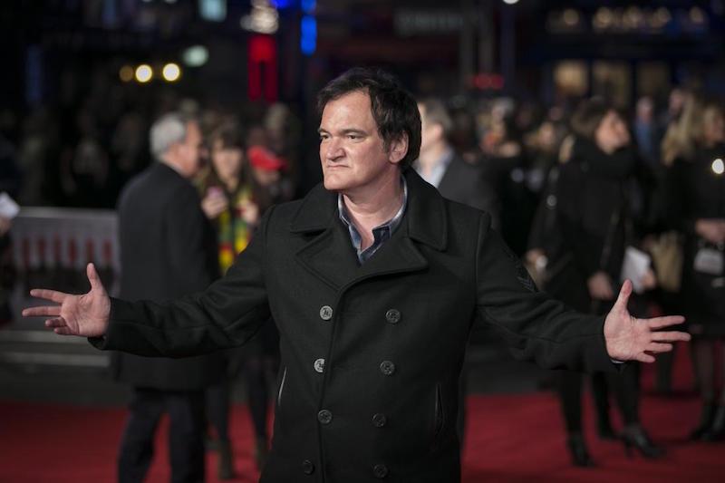 Quentin Tarantino mérges