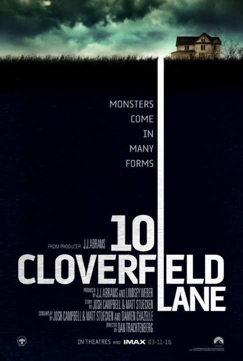 10 Cloverfield Lane filmplakát