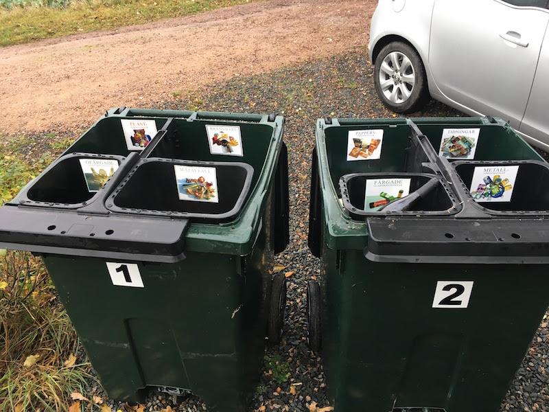 Szelektív hulladékgyűjtés Svédországban