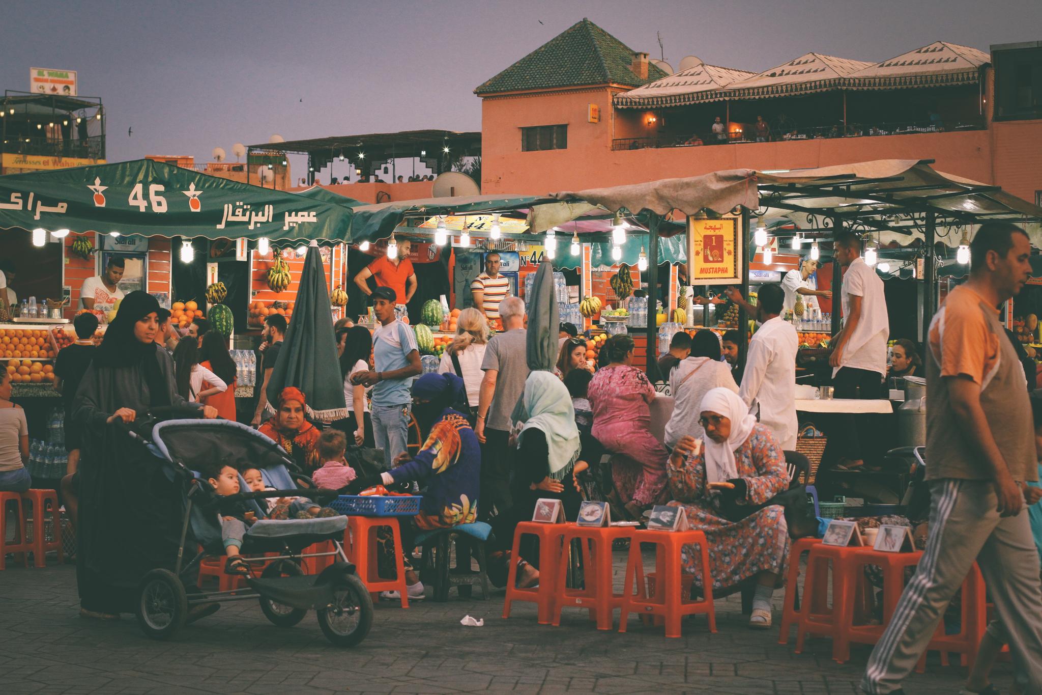 Jamaa el Fnaa, Marrakesh, Morocco