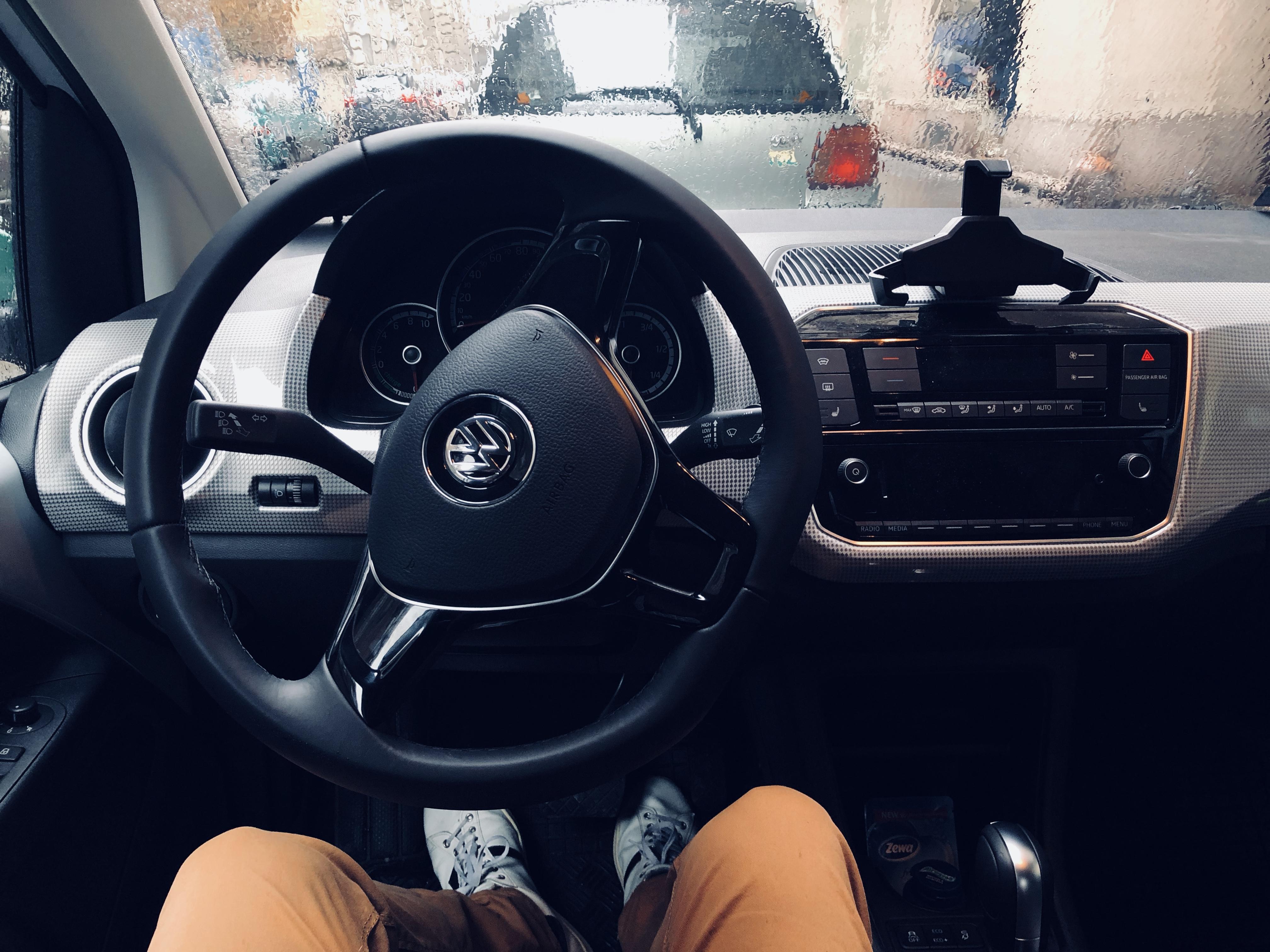 MOL Limo - Volkswagen e-up! interior belülről