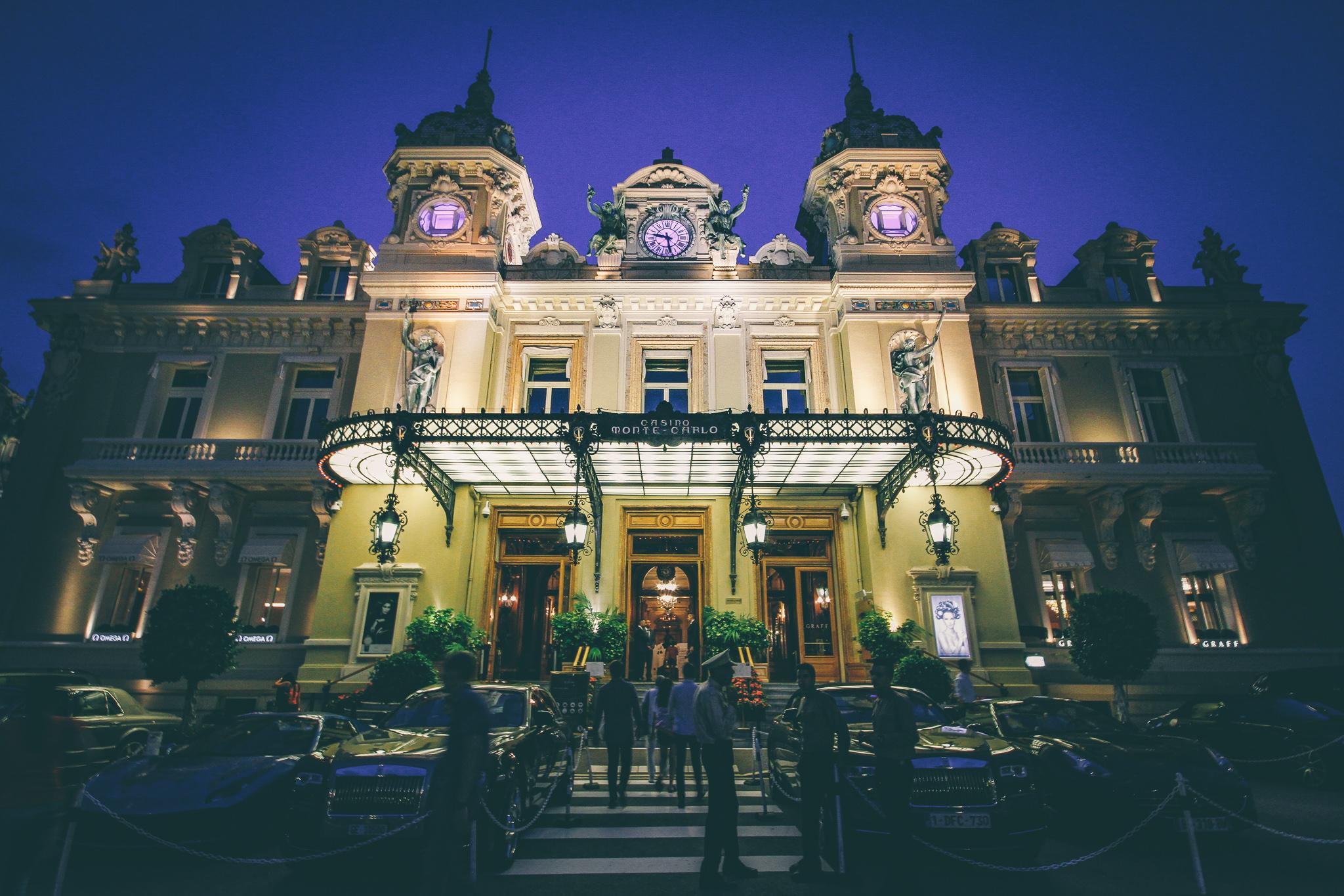 Casino de Monte-Carlo, Monaco - a monacói kaszinó