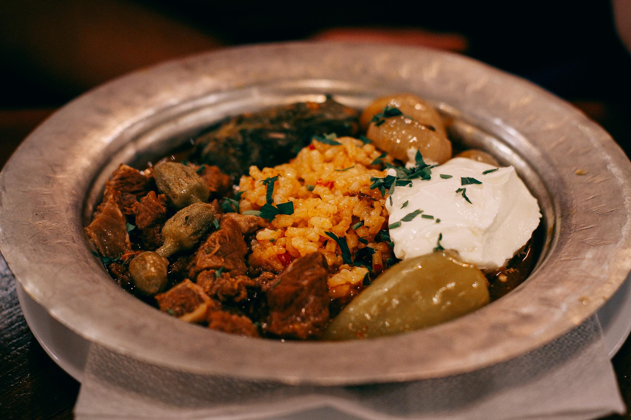 Dolma, bosnyák étel, Szarajevó, Bosznia-Hercegovina