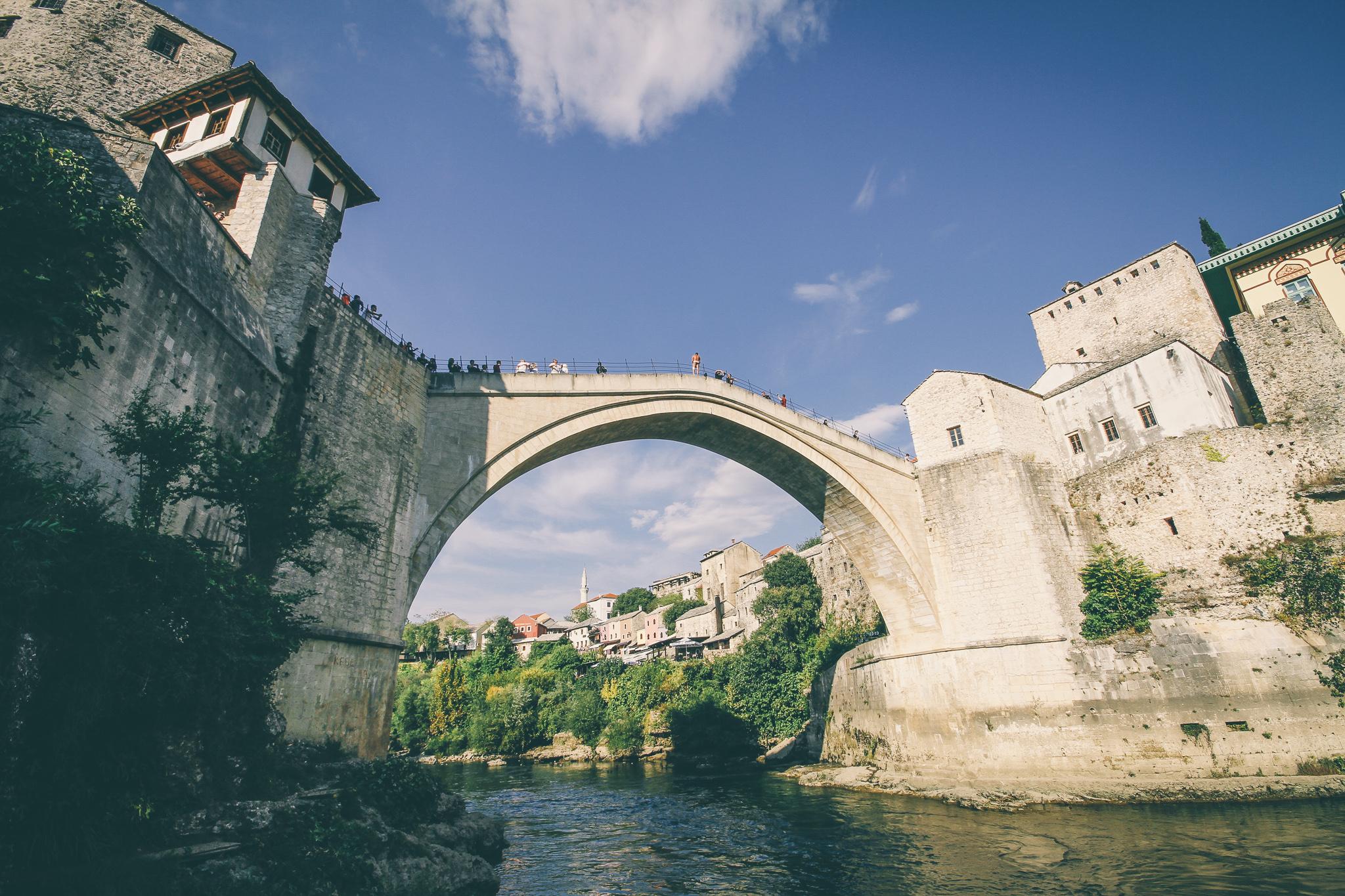 Mostar, az Öreg híd, Bosznia-Hercegovina
