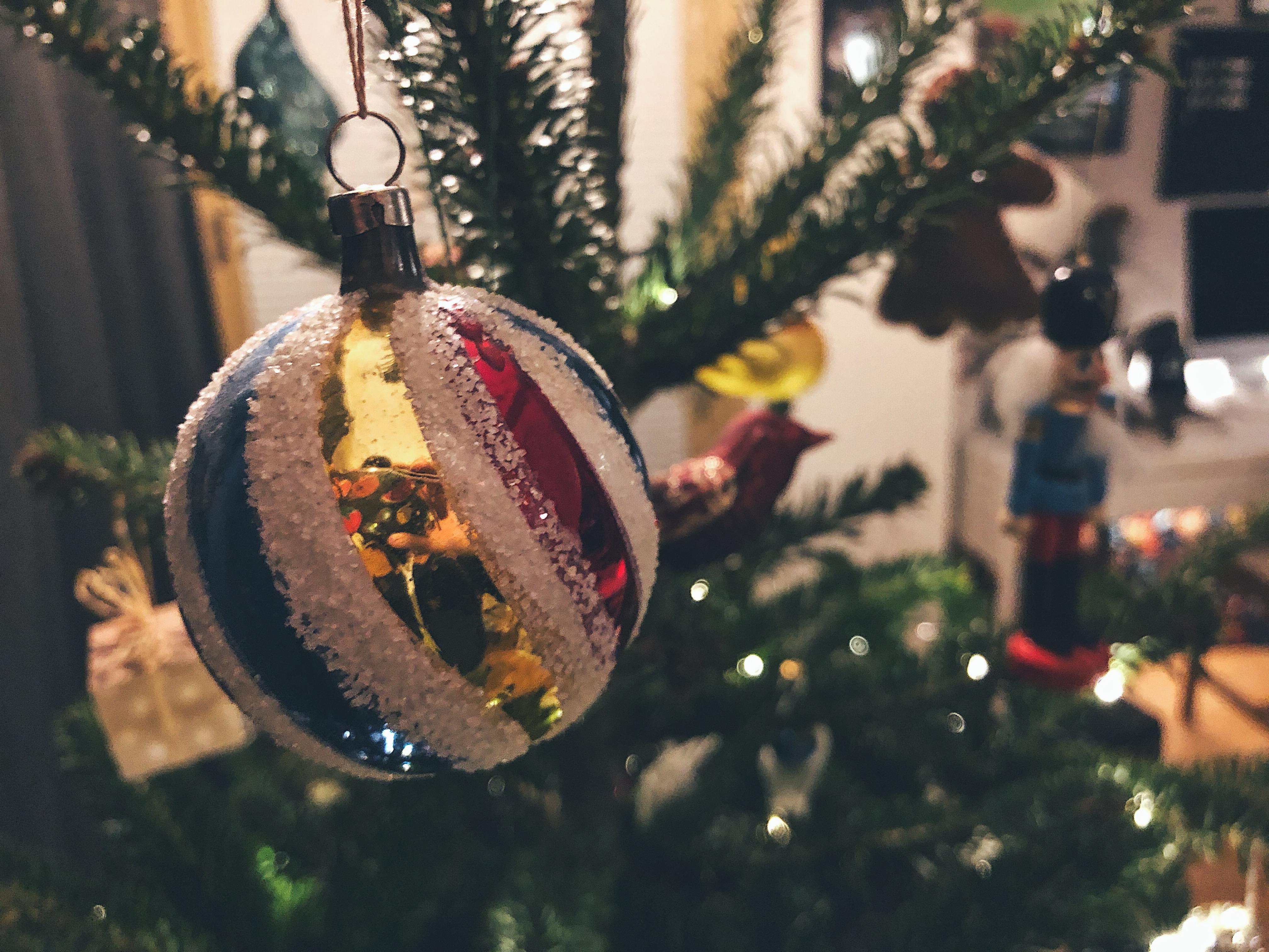 Karácsonyfadísz 2018 - Boldog karácsonyt!