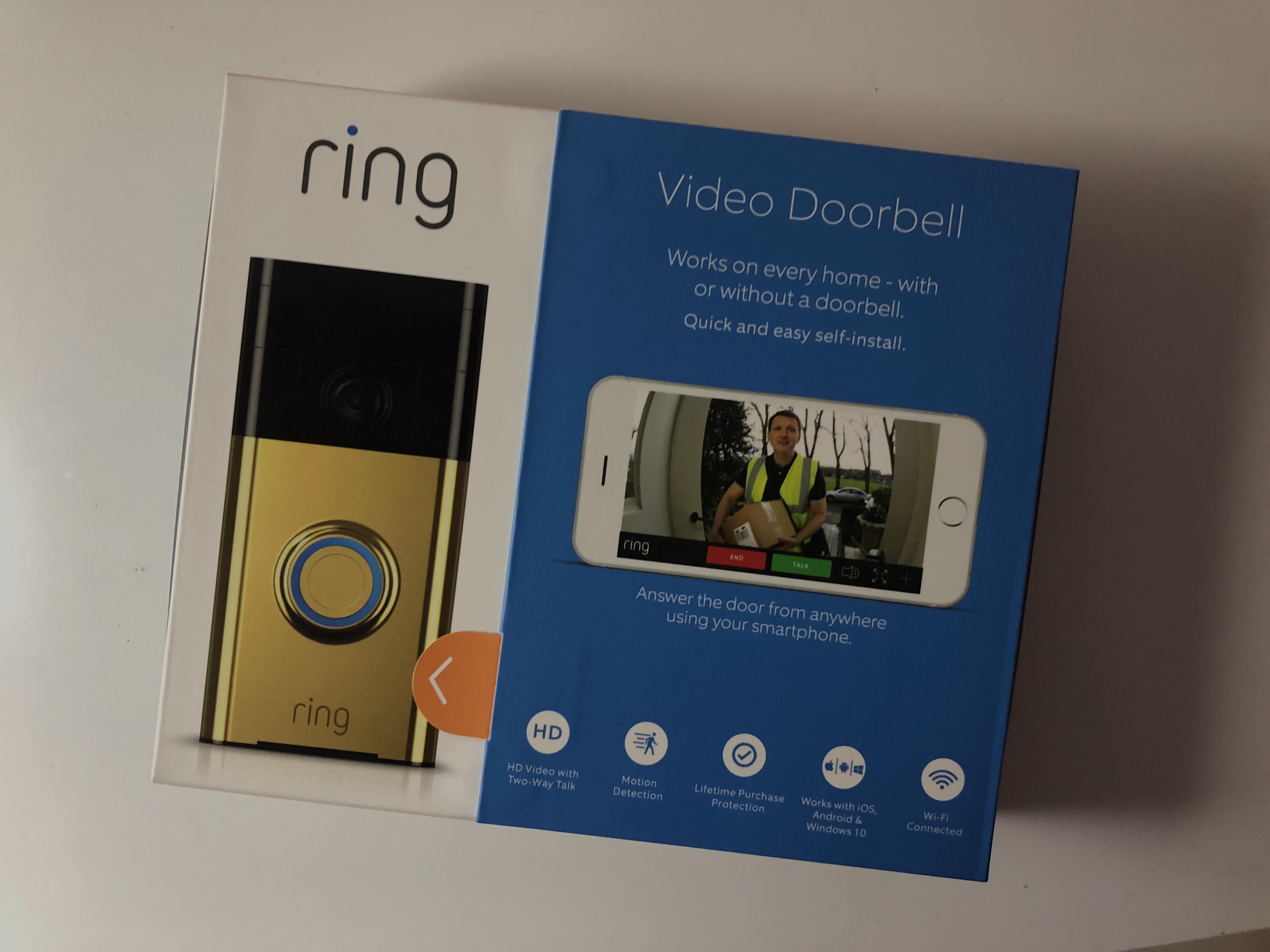 Okoskütyü, okosotthon: Ring Video Doorbell, avagy okos videó kaputelefon