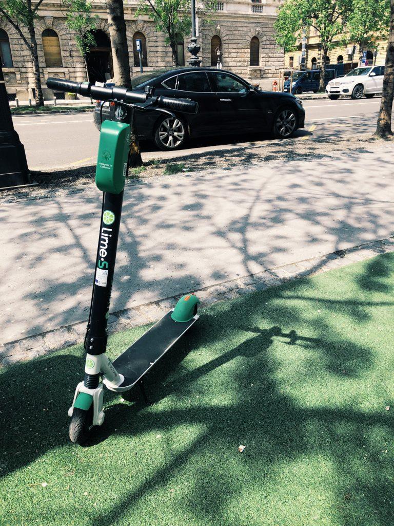 Lime - elektromos roller kölcsönzés bérlés Budapesten