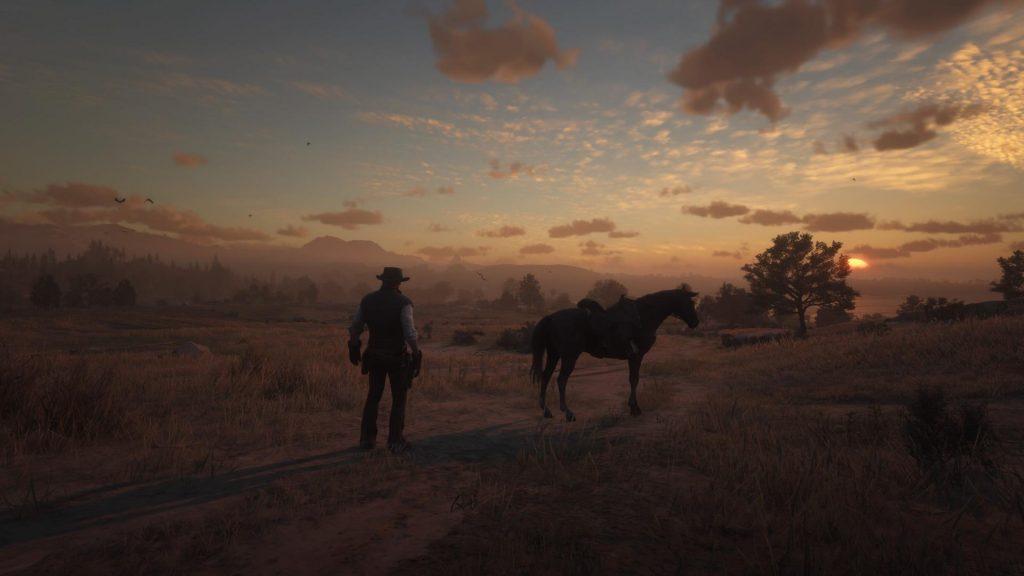 PS4 screenshot az RDR2 játékból