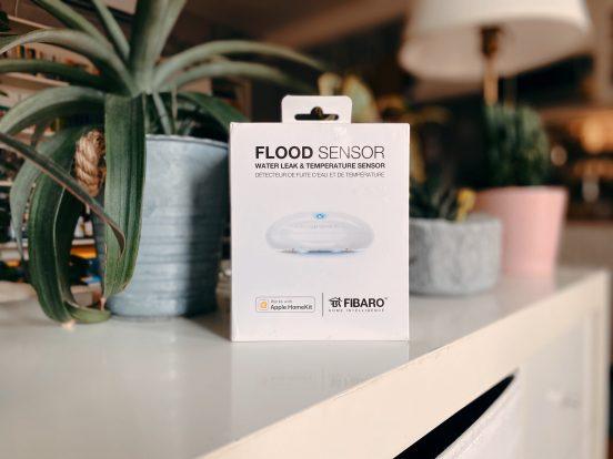 Fibaro Flood okos vízszivárgás és hőmérséklet érzékelő